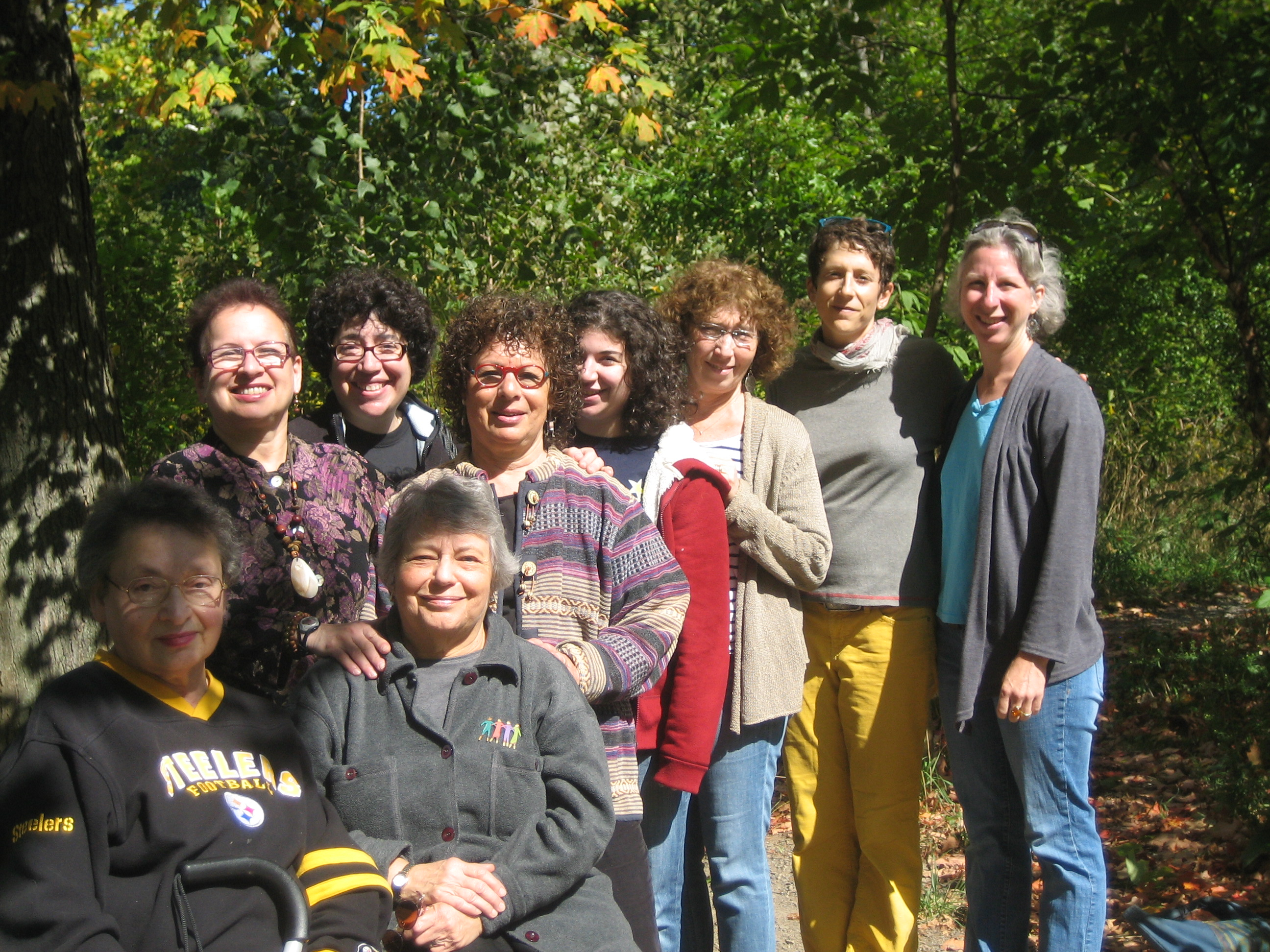 Tashlich with the Jewish Women's Center of Pittsburgh
