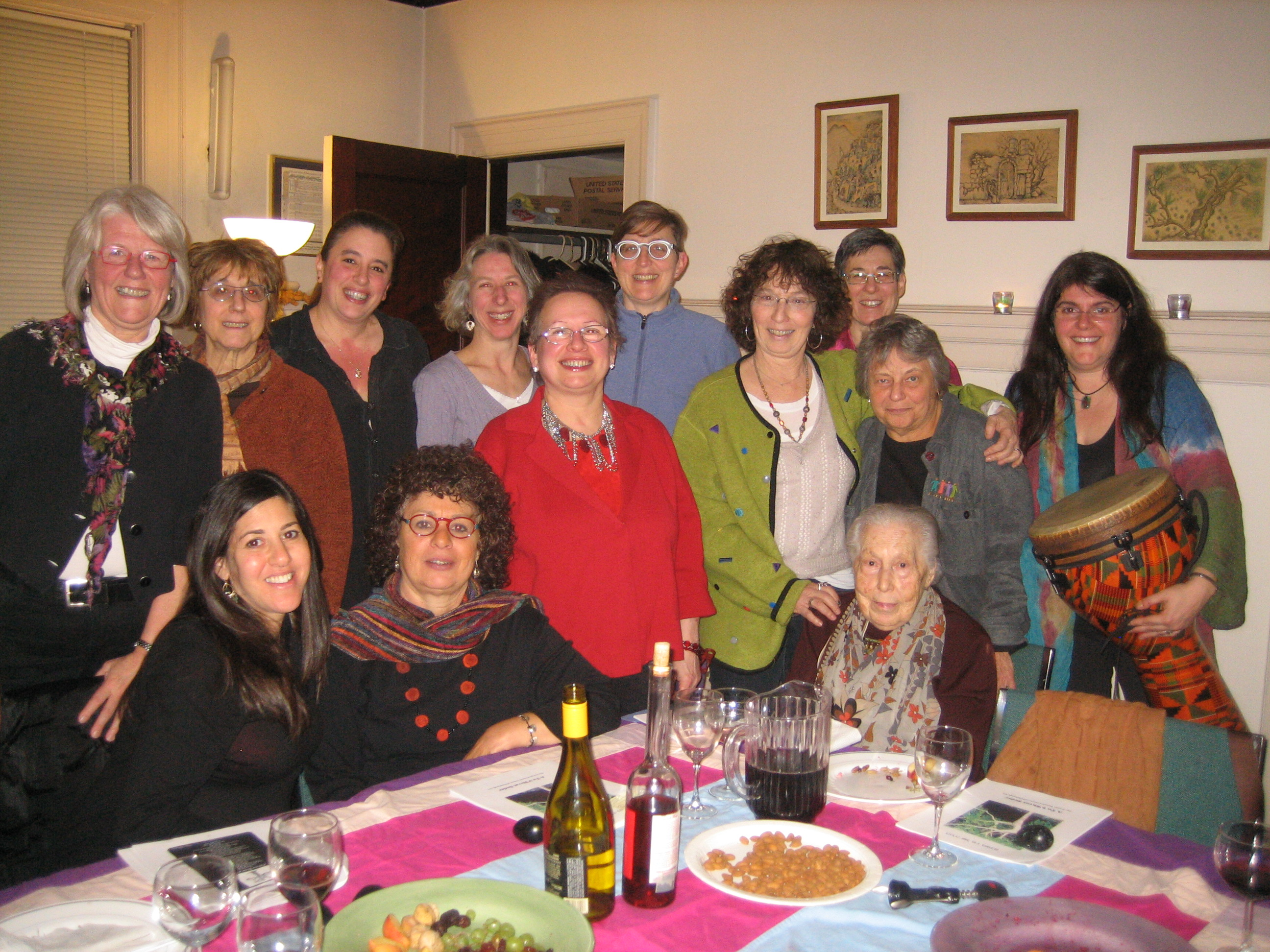 Women's Seder, Jewish Women's Center of Pittsburgh